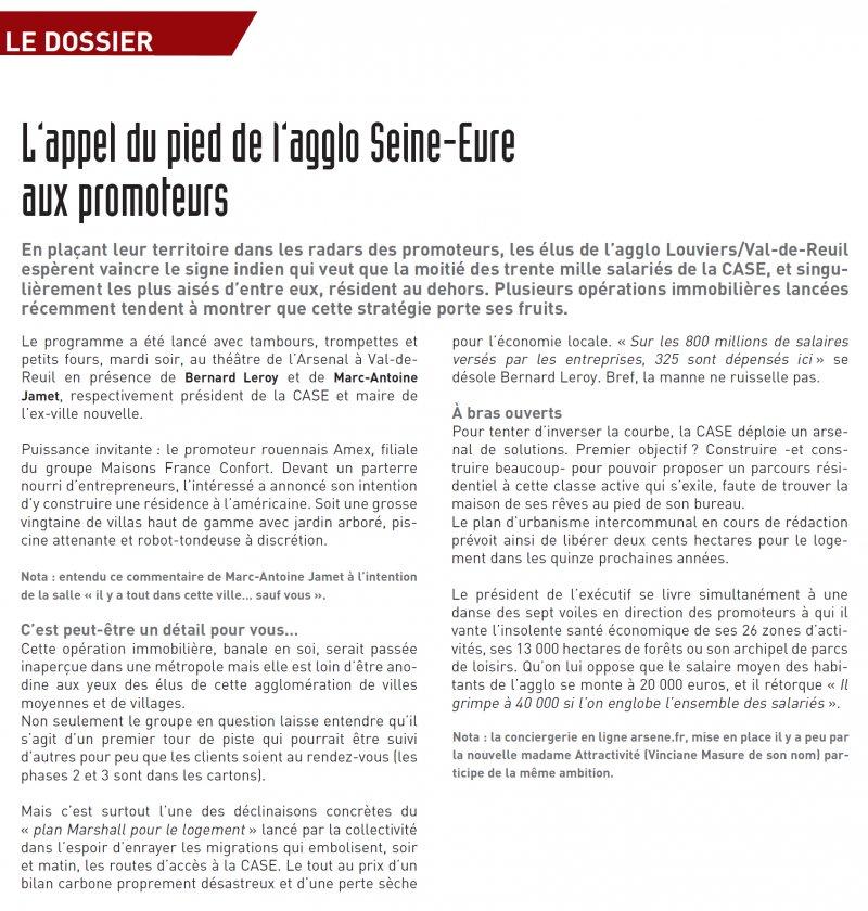 Article La Lettre EcoNormandie