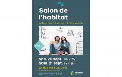 Salon de l'Habitat  Louviers - les vendredi 20 et samedi 21 septembre